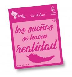 Amelie Stencil - 09024 Los Sueños se ...