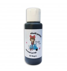 02 - Negro - Chalk paint special scrap 60 ml