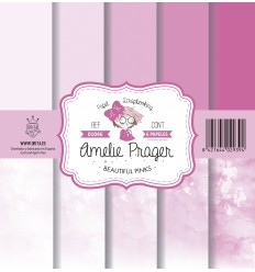 BEAUTIFUL PINKS (SET 6 PAPELES)