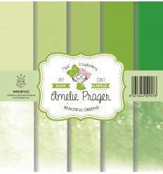 BEAUTIFUL GREENS (SET 6 PAPELES)