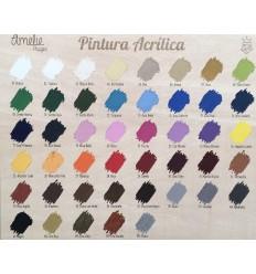 Gama pintura acrílica Amelie - 120 ml