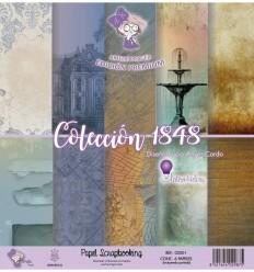COLECCIÓN 1848 (SET 6 PAPELES)