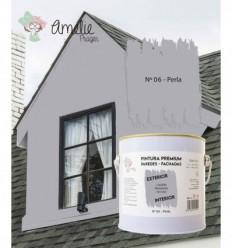 Pintura Paredes Premium int - ext 06 Perla