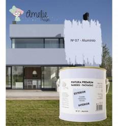 Pintura Paredes Premium int - ext 07 Aluminio