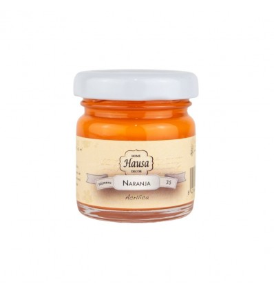 Hausa Acrílica 35 Naranja - 30 ml