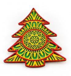 Mandala Árbol de Navidad