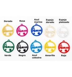 Bolas personalizadas de metraquilato