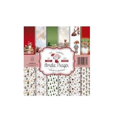 Amelie Christmas ( set 6 papeles )